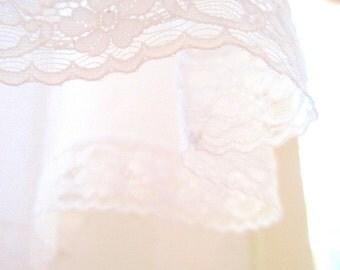 Chantilly Lace Vanity Fair Vintage Slip Dress - Size 34
