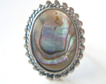 Pacific Abalone Vintage Mermaid Ring