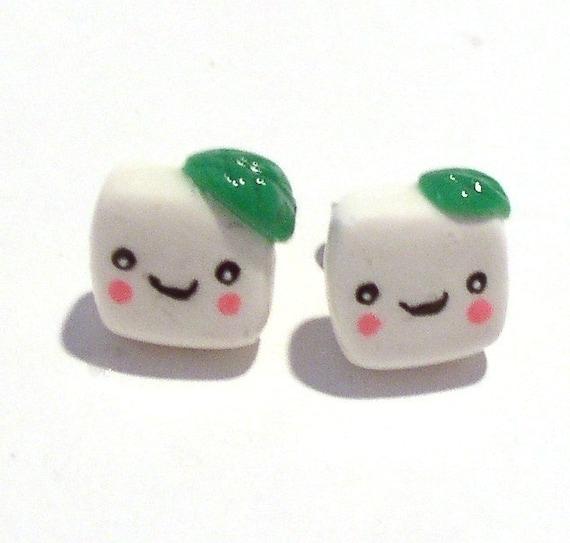Little Tofu Studs