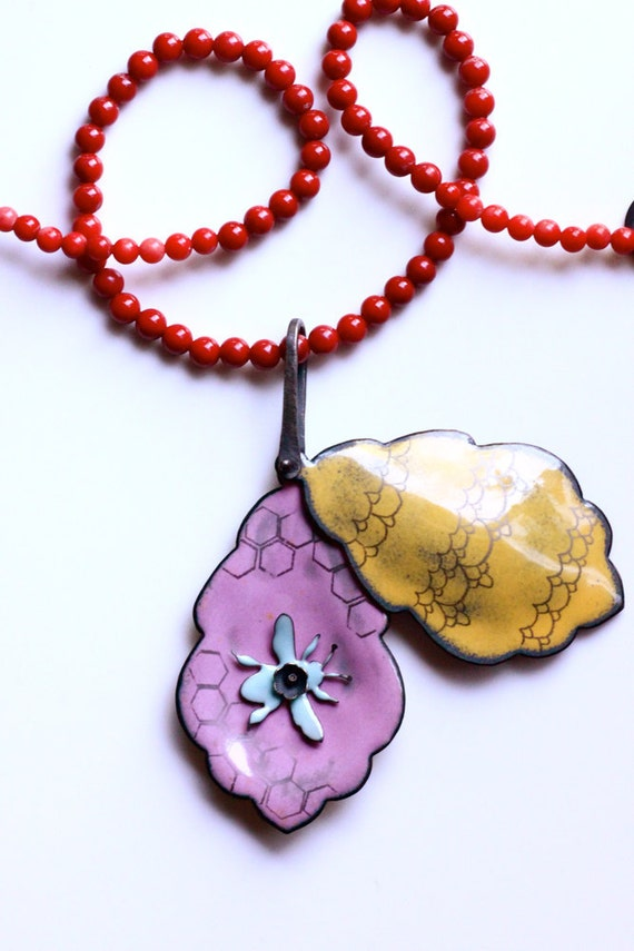 Bee Locket -- For a Bee Charmer