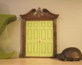 Spring Green Double Fairy Door