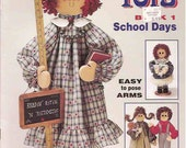 TEAGERS TOTS SCHOOL DAYS WOODEN DOLL PATTERN BOOK by MARY TEAGER