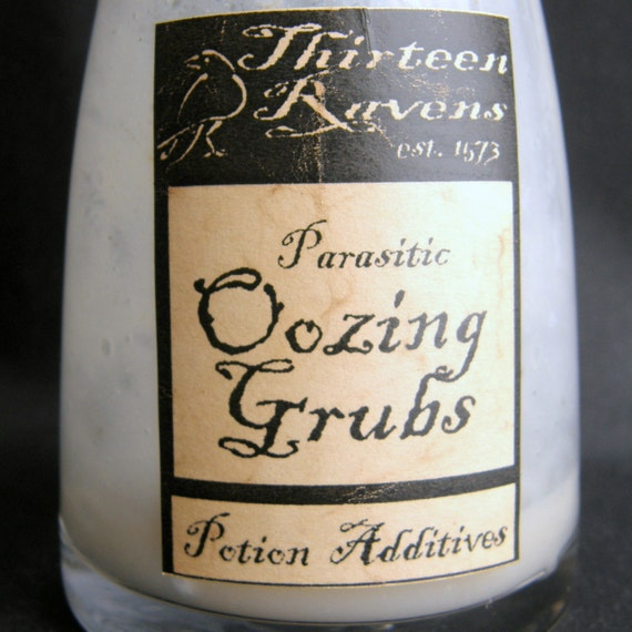 Witch Potion Curio Oozing Grubs