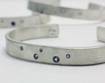 catch a falling star sterling silver cuff bracelet