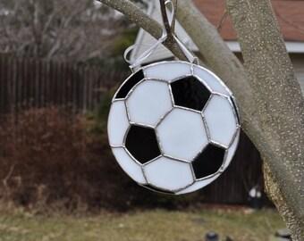 Soccer ball suncatcher