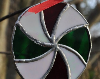christmasmint ornament-suncatcher