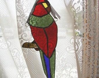 Parrot suncatcher