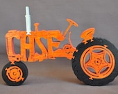 Case  Antique Farm Tractor Toy Puzzle Hand Cut