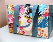 Large Diaper Bag in LouLouThi by Anna Maria Horner Fabrics