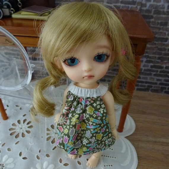 Lovely Floral Latidoll Yellow bubble dress 1 piece