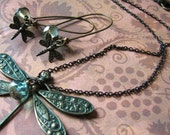 Whimsical Dragonfly Set