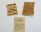 Absinthe Posters French Ban Era Dollhouse Miniature