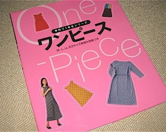 Japanese Craft Pattern Book Sewing One Piece