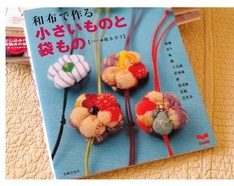 Japanese Craft Book Sewing with kimono chirimen silk linen fabric