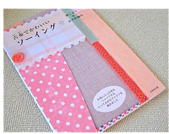 RESERVED FOR YCNEEDLE Japanese  Craft Pattern Book Remake Eco Sewing