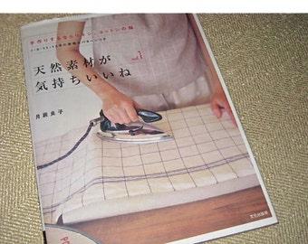 Japanese Craft Pattern Book Sewing Zakka Cotton and Linen