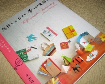 Japanese Pattern Book Self Made Eco Stationery