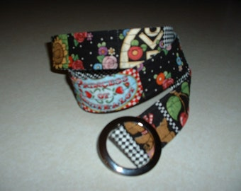 Quilted Belt made with Mary Englebreit Fabrics