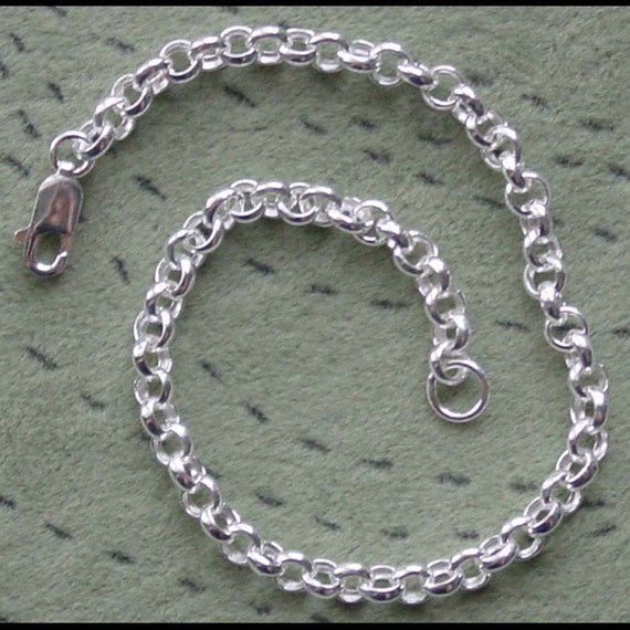 Sterling Silver Roll Chain Bracelet (7 1\/2 inches)