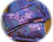 Organic Flax and Lavender Eye Pillow with a touch of Comfry