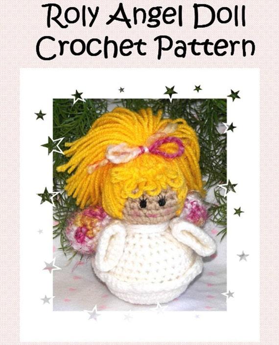 Amigurumi Angel Doll : Roly Angel Doll Crochet Pattern Amigurumi Angel Doll Pattern