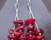 Red Letter Day earrings