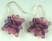 Starflower Beaded Earrings