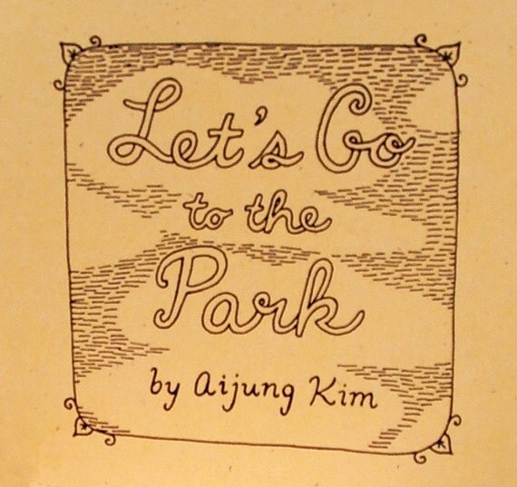 Let's Go to the Park - Zine