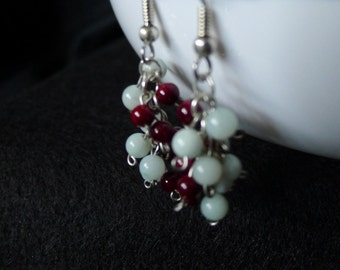 Jade and Garnet Cluster-Lucy