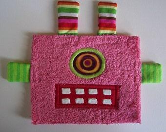 One Eye Pink Robot