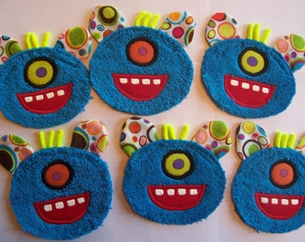 Monster Party Pack - 4 patches