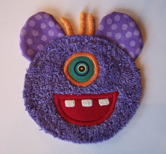 One Eye Purple People Eater Patch