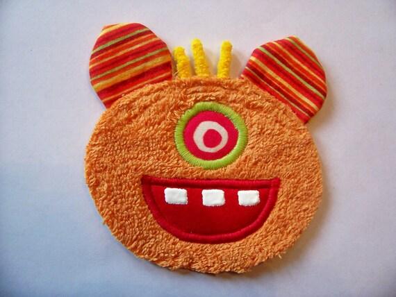 One Eye Orange Monster Guy