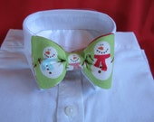 Snowman Bow Tie