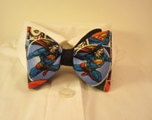 Bow tie with Superman Fabric