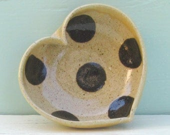 miniature heart bowl - 3 1/4 inches