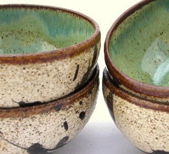 4 mini Wyoming dipping bowls