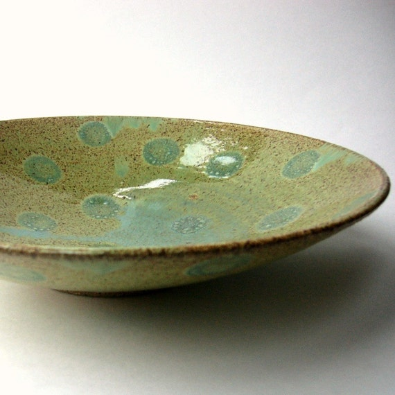Spring Green Pasta Bowl ...8 3\/4 inches