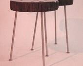 Mahogany Pedz Side Tables