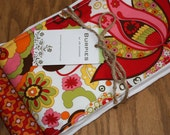 Fabulous set of 2 burp cloths for hip baby and mama with TAG in Mirabelle