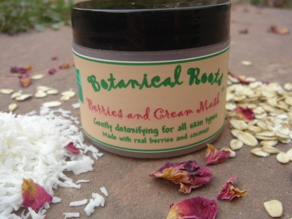 Berries and Cream Facial Mask - Yum... Totally natural and absolutely divine.