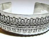 Silver Cuff Bracelet Classic Design