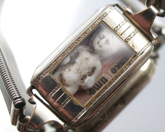Take Time Frozen Charlotte Doll Bracelet Watch One-of-a-Kind Steampunk Watch