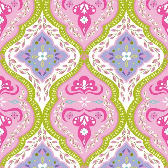 CUSTOM LISTING for WENDYLoki Pink, Spring Promise, Blend Fabrics