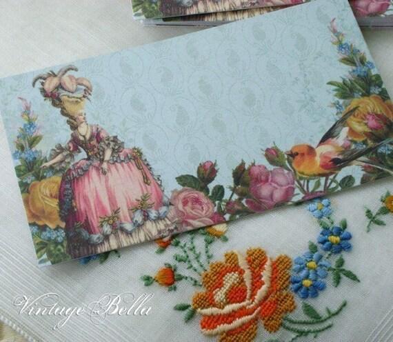 20 Marie Antoinette Blue MERCI Patisserie Tags 02 by Vintage Bella