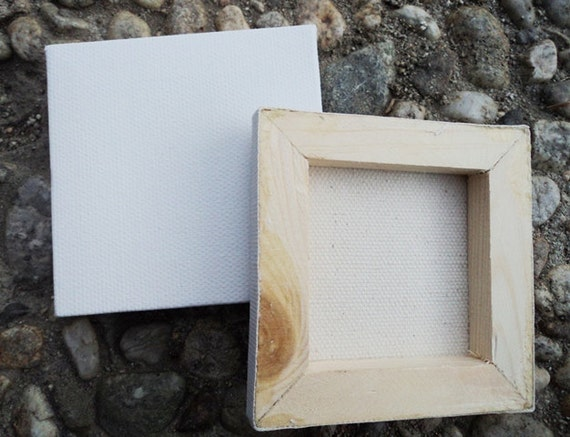 one miniature canvas