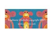 Pink Sock Monkey Art - Nursey Art - Cute Monkeys - Two and A Half Pinkies - Pink Monkey Art