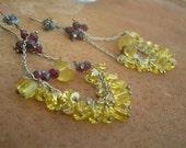 ANGELIQUE - Sterling Gypsy Swing Earrings