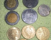 21 European coins replaced by Euro