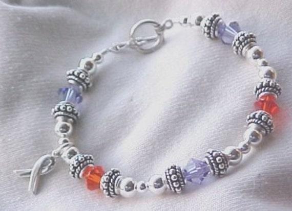 lupus awareness bracelet by sweetpea321 on etsy